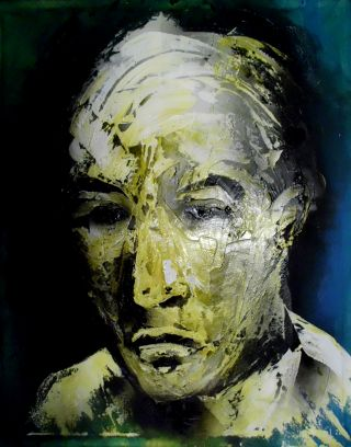 Expressionism  artwork John Doe by Philippe Mendel