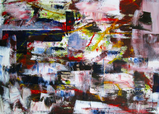 Abstract  artwork Untitled by Eduardo Bessa