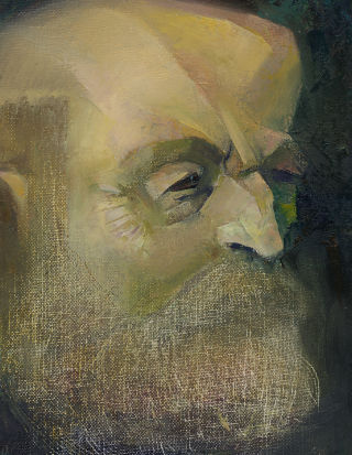 Cubism  artwork My Monsieur Paul Cezanne by Tensil