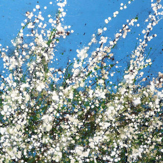 Abst. Expressionism  artwork Early Spring by Simon Fairless