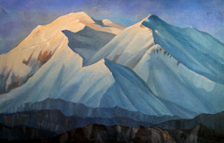 Realism  artwork Alaska. Mckinley by Alan Albeg