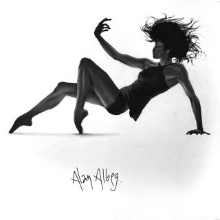 Contemporary  artwork Dance 7 by Alan Albeg