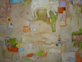 Abstract  artwork Excavation by Rosa Hollmann