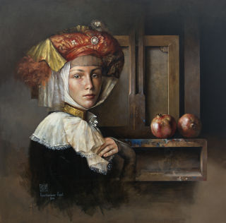 Realism  artwork Still life portrait by Konstantin Kachev
