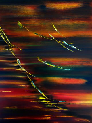 Abstract  artwork Autumn feelings by David Hatton