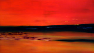 Abstract  artwork Tranquility by David Hatton