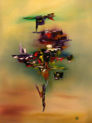 Abstract  artwork Balance by David Hatton