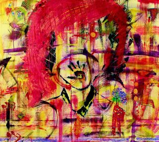 Abst. Expressionism  artwork Beautiful Confusion by Penelope Przekop