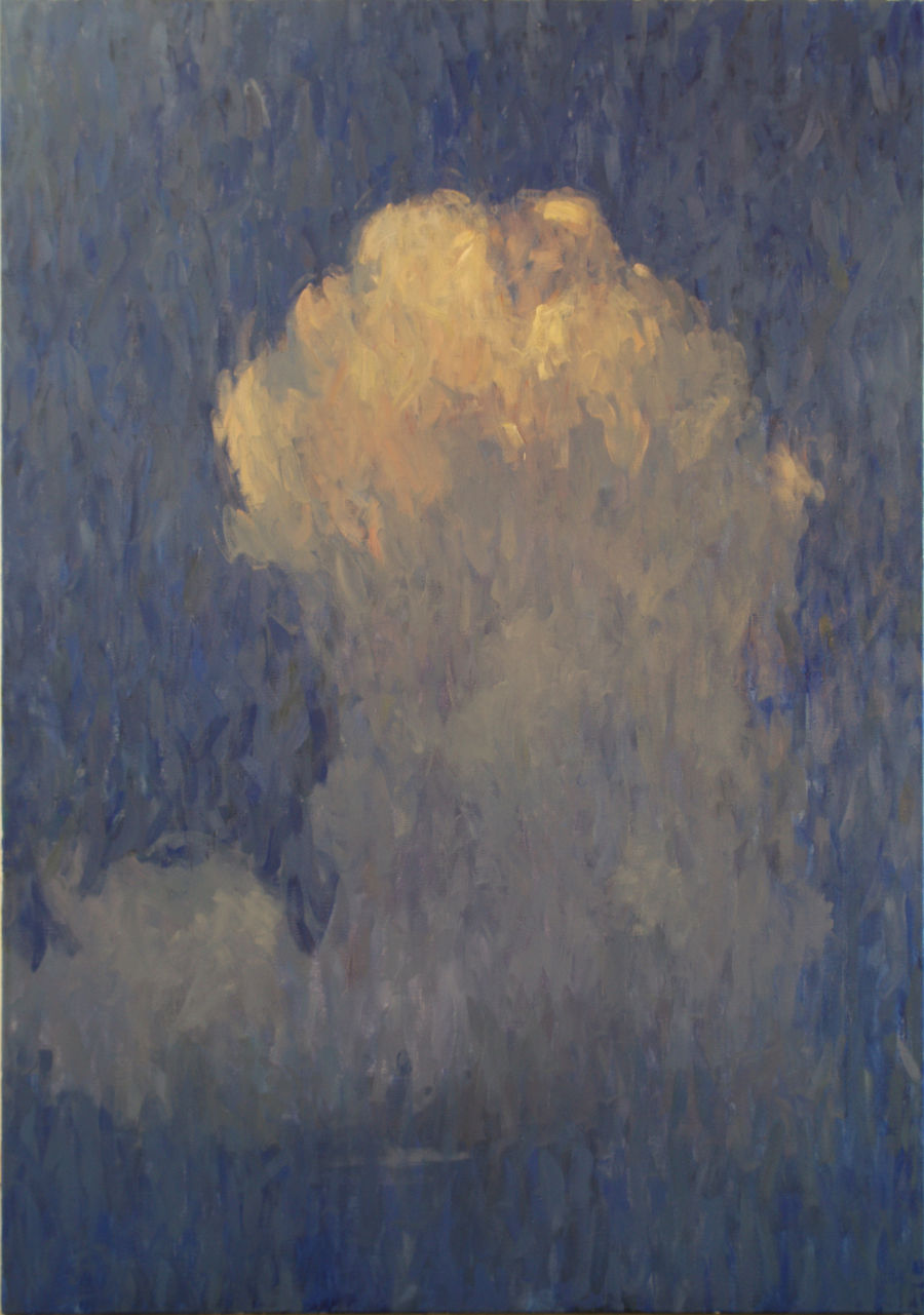 Impressionism Oil painting Cloud by Glib Franko