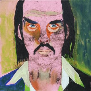 Portraiture  artwork Nick Cave by Alina Petkun