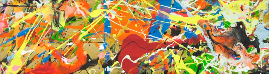 Полотна в стиле Абстрактный экспрессионизм